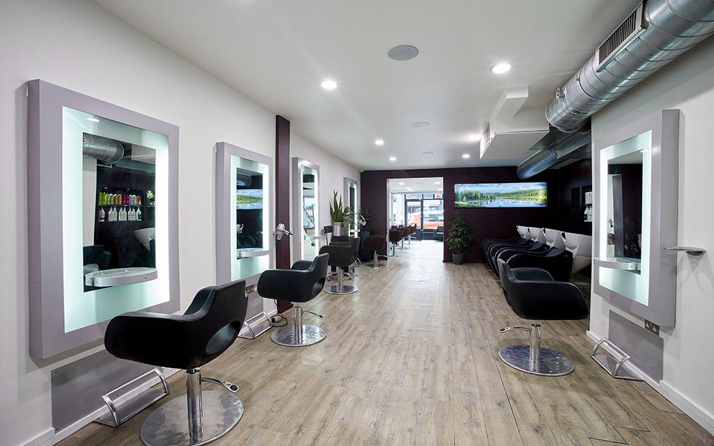 Inside Aka Hair Salon Gloucester Rd